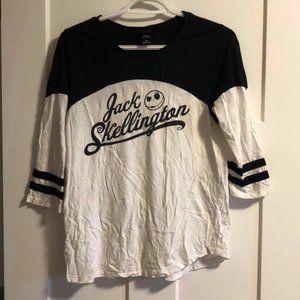 Jack Skellington Baseball Tee
